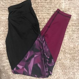 rainbeau Pants - black & purple leggings